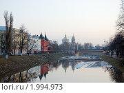 Купить «Орловская весна. Вечер.», фото № 1994973, снято 30 марта 2010 г. (c) Юрий Жеребцов / Фотобанк Лори
