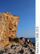Скалы на мысе Алчак-Кая (2009 год). Стоковое фото, фотограф Давыдов Юрий / Фотобанк Лори