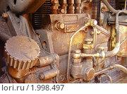 Фрагмент дизеля. Стоковое фото, фотограф Алёшина Оксана / Фотобанк Лори