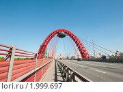 Купить «Живописный мост. Москва», фото № 1999697, снято 25 сентября 2010 г. (c) Екатерина Овсянникова / Фотобанк Лори