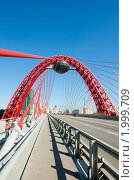 Купить «Живописный мост. Москва», фото № 1999709, снято 25 сентября 2010 г. (c) Екатерина Овсянникова / Фотобанк Лори