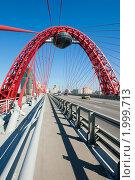 Купить «Живописный мост. Москва», фото № 1999713, снято 25 сентября 2010 г. (c) Екатерина Овсянникова / Фотобанк Лори