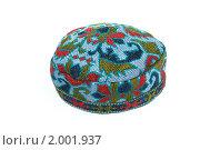 Узбекская тюбетейка. Стоковое фото, фотограф Дмитрий Перельман / Фотобанк Лори
