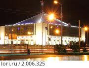 Сургут ночной (2010 год). Редакционное фото, фотограф Зверев Игорь / Фотобанк Лори