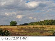 Осенний сельский пейзаж. Стоковое фото, фотограф Ганько Наталья / Фотобанк Лори