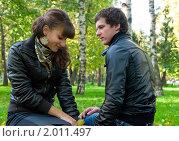 Купить «Осенняя история любви», фото № 2011497, снято 26 сентября 2010 г. (c) Okssi / Фотобанк Лори