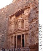 Купить «Древний город (Петра, Иордания)», фото № 2015737, снято 12 сентября 2010 г. (c) Ирина Стюфеева / Фотобанк Лори