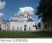 Купить «Софийский собор. Великий Новгород.», фото № 2018933, снято 15 июня 2010 г. (c) Виктор Юрасов / Фотобанк Лори
