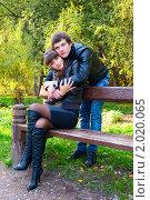 Купить «Осенняя история любви», фото № 2020065, снято 26 сентября 2010 г. (c) Okssi / Фотобанк Лори