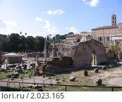 Рим, один из форумов (2008 год). Стоковое фото, фотограф Дмитрий Казанцев / Фотобанк Лори