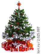 Купить «Украшенная елка», фото № 2025097, снято 28 декабря 2009 г. (c) Литова Наталья / Фотобанк Лори