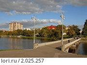 Купить «Калининград. Озеро Нижнее», эксклюзивное фото № 2025257, снято 3 октября 2010 г. (c) Svet / Фотобанк Лори