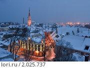 Старый город. Стоковое фото, фотограф Максим Блинов / Фотобанк Лори