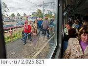Пассажиры и зайцы (2010 год). Редакционное фото, фотограф Ольга Денисова / Фотобанк Лори