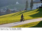 Велосипедная прогулка. Редакционное фото, фотограф Максим Блинов / Фотобанк Лори