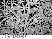 Купить «Кружево», фото № 2027637, снято 10 декабря 2009 г. (c) Losevsky Pavel / Фотобанк Лори