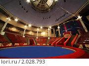 Купить «Арена цирка Никулина в Москве», фото № 2028793, снято 5 июня 2010 г. (c) Losevsky Pavel / Фотобанк Лори