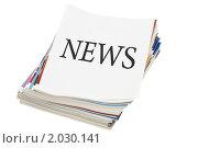 Журналы на белом фоне. Стоковое фото, фотограф Воронин Владимир Сергеевич / Фотобанк Лори