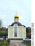 Купить «Церковь на кладбище в Лайково», фото № 2036905, снято 2 октября 2010 г. (c) Никонор Дифотин / Фотобанк Лори
