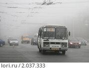 Купить «Туман», фото № 2037333, снято 10 октября 2010 г. (c) Art Konovalov / Фотобанк Лори