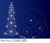 Купить «Новогодняя открытка», иллюстрация № 2043285 (c) Ирина Кротова / Фотобанк Лори