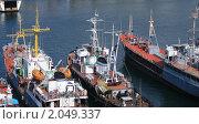 Торговый флот России в Севастополе. Стоковое фото, фотограф Мария Васильева / Фотобанк Лори