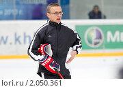 Купить «Мастер - класс легенд мирового хоккея в Балашихе», эксклюзивное фото № 2050361, снято 13 октября 2010 г. (c) Дмитрий Неумоин / Фотобанк Лори