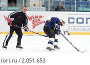 Купить «Мастер - класс легенд мирового хоккея в Балашихе», эксклюзивное фото № 2051653, снято 13 октября 2010 г. (c) Дмитрий Неумоин / Фотобанк Лори