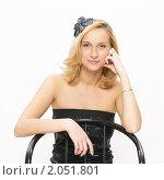 Купить «Красивая блондинка», фото № 2051801, снято 3 октября 2010 г. (c) Egorius / Фотобанк Лори