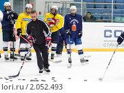 Купить «Мастер - класс легенд мирового хоккея в Балашихе», эксклюзивное фото № 2052493, снято 13 октября 2010 г. (c) Дмитрий Неумоин / Фотобанк Лори