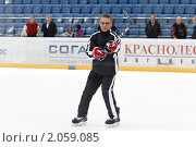 Купить «Мастер-класс легенд мирового хоккея в Балашихе», эксклюзивное фото № 2059085, снято 13 октября 2010 г. (c) Дмитрий Неумоин / Фотобанк Лори
