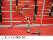Купить «Блочный лук. Международная выставка Оружие и охота 2010 (ARMS & Hunting 2010)», фото № 2060961, снято 16 октября 2010 г. (c) LightLada / Фотобанк Лори