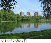 """Купить «Москва. Парк """"Дружба""""», эксклюзивное фото № 2065581, снято 8 сентября 2010 г. (c) lana1501 / Фотобанк Лори"""