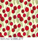 Купить «Фон из тюльпанов», иллюстрация № 2066277 (c) Ольга Иванова / Фотобанк Лори
