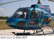 Каймановы острова. Экскурсионный вертолет (2010 год). Редакционное фото, фотограф Ирина Фирсова / Фотобанк Лори