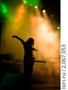 Купить «Музыкант на сцене», фото № 2067053, снято 14 ноября 2008 г. (c) Elisanth / Фотобанк Лори