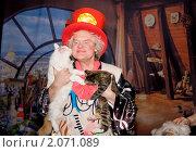 Купить «Юрий Куклачев на сцене своего театра», фото № 2071089, снято 25 марта 2009 г. (c) Ольга Денисова / Фотобанк Лори