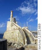 Мальта. Маяк (2005 год). Стоковое фото, фотограф Мария Закржевская / Фотобанк Лори