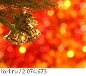 Купить «Елочное украшение», фото № 2074673, снято 10 октября 2010 г. (c) yarruta / Фотобанк Лори