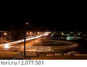 Купить «Трамвайное кольцо», фото № 2077501, снято 22 октября 2010 г. (c) Сергей Базаров / Фотобанк Лори