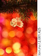 Купить «Рождественский ангел», фото № 2081425, снято 13 октября 2010 г. (c) yarruta / Фотобанк Лори