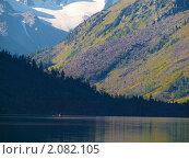 Купить «Алтай. Озеро Нижнее Мультинское», фото № 2082105, снято 21 августа 2010 г. (c) Andrey M / Фотобанк Лори