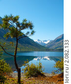 Купить «Алтай. Озеро Нижнее Мультинское», фото № 2082133, снято 21 августа 2010 г. (c) Andrey M / Фотобанк Лори