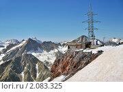 Купить «Вид с горы Эльбрус на горы Северного Кавказа», фото № 2083325, снято 28 июля 2010 г. (c) Pukhov K / Фотобанк Лори