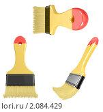 Купить «Строительные кисти», иллюстрация № 2084429 (c) Буханцов Алексей / Фотобанк Лори