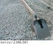 Лопата на куче. Стоковое фото, фотограф Сергей Ксенофонтов / Фотобанк Лори