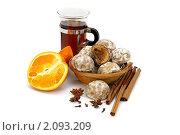 Купить «Пряники с фруктовой начинкой к чаю», фото № 2093209, снято 20 октября 2010 г. (c) Татьяна Белова / Фотобанк Лори