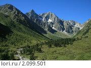 Долина реки Беляги-дон, Осетия. Стоковое фото, фотограф Судаков Валентин / Фотобанк Лори