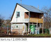 Дачный домик. Стоковое фото, фотограф Ерёмин Никита / Фотобанк Лори