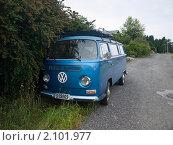 Купить «Старый фургончик», фото № 2101977, снято 18 июля 2009 г. (c) Алексей Шматков / Фотобанк Лори